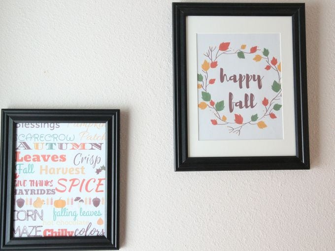 Printable Wall Art For Fall To Easily Update Your Home