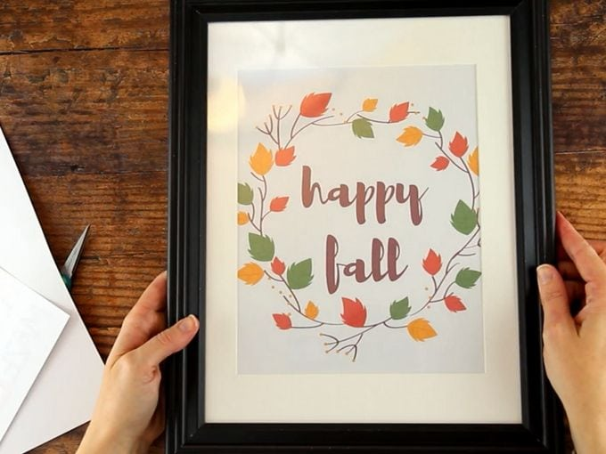 printable fall wall decor