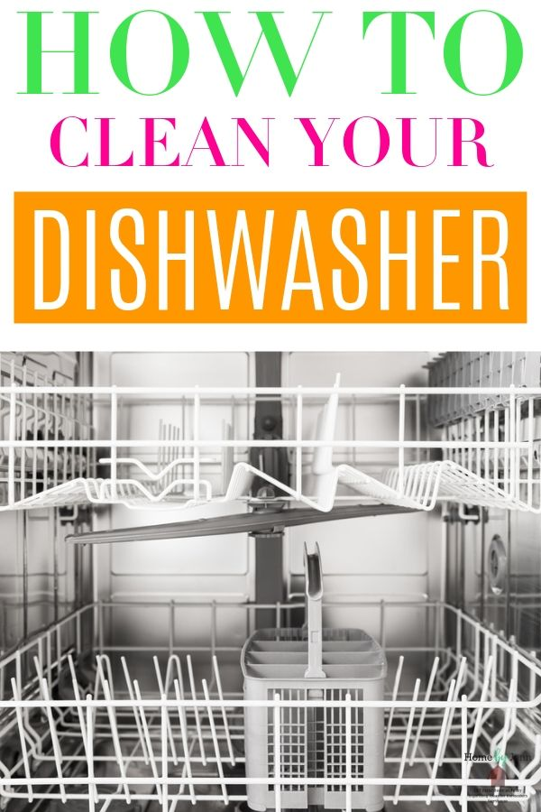 To keep your dishes coming out of your dishwasher clean, you'll need to clean your dishwasher.