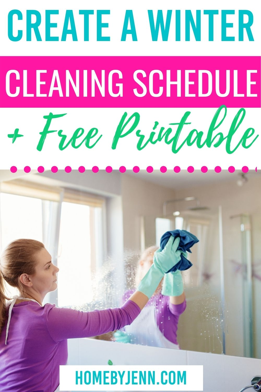 Make the winter cleaning a breeze by setting up a winter cleaning schedule. This easy to follow winter cleaning schedule will help you keep your home clean and maintained for the winter months. #cleaningschedule #wintercleaning #getreadyforwinter . via @homebyjenn