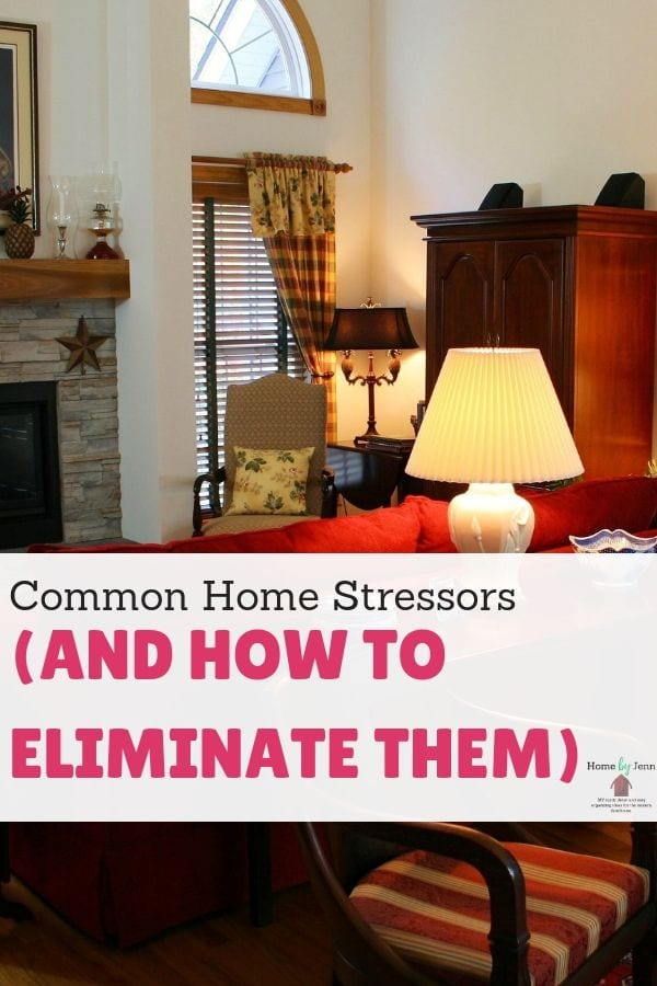 Common Home Stressors (And How To Eliminate Them) via @homebyjenn