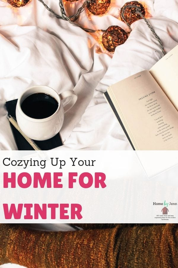 Cozying Up Your Home for Winter via @homebyjenn