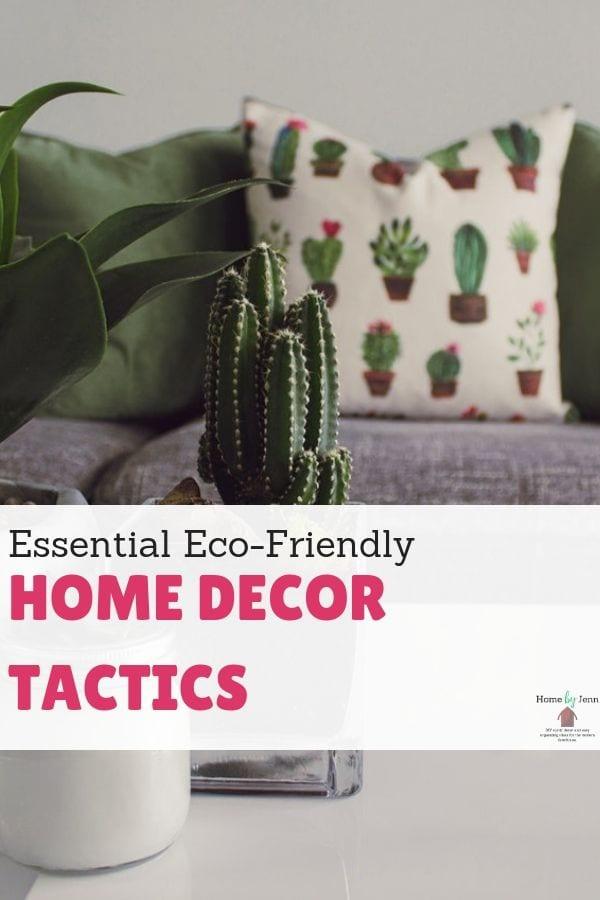 Essential Eco Friendly Home Decor Tactics