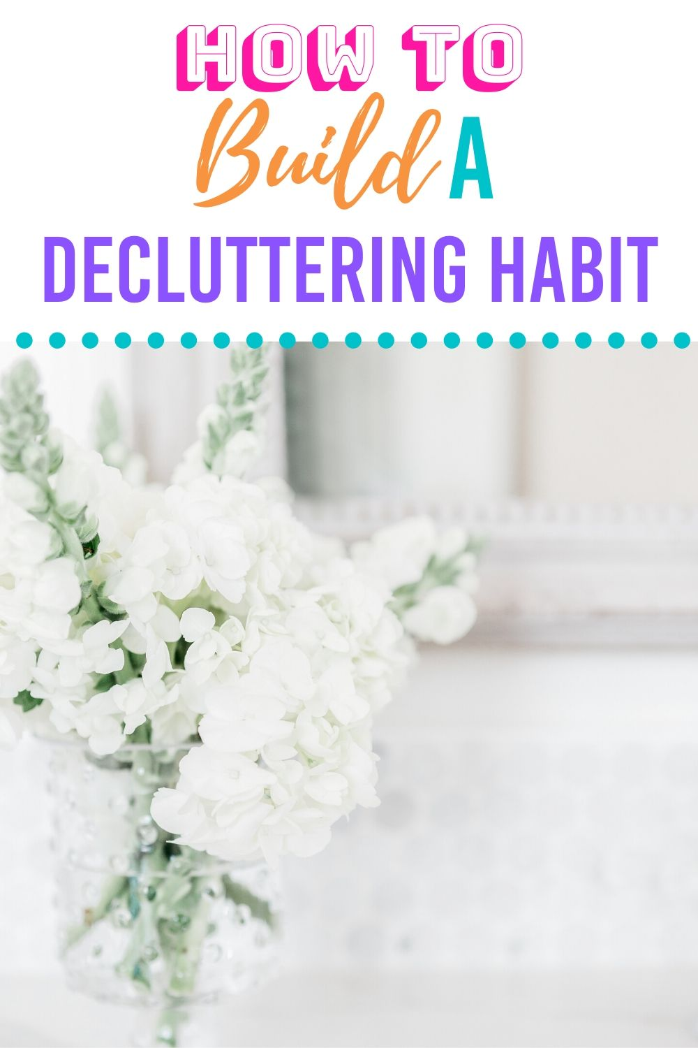 Setting a declutteringhabit will help you with the clutter in your home. Get some useful decluttering tips to help you create this habit in no time. When you declutter and organize your home will have more room and stay cleaner. #declutteringhabit #declutteringhome #howtodeclutter #declutter #organize #cleaningtips #organizedhome #declutterandorganize via @homebyjenn