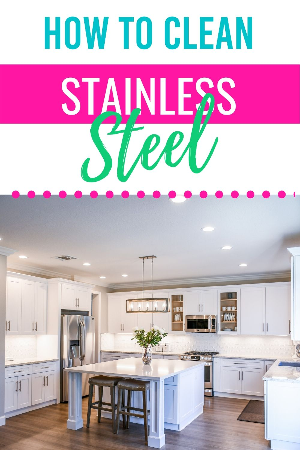 Appliances are expensive.  It's important to keep them in tip-top condition.  Learn how to clean stainless steel to make your appliances look good as new. #howtocleanstainlesssteel #howdoyoucleanyourstainlessappliances #stainlesssteel via @homebyjenn