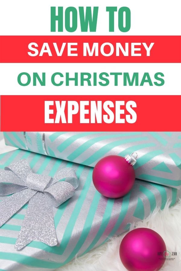 Learn how to save money on holiday expenses. These budget friendly tips will help you save money. #holiday #holidaybudget #christmas #christmasbudget #budget #savemoney #frugal #frugaltips #moneysavingtips via @homebyjenn