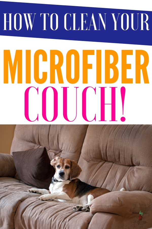 How To Clean Your Microfiber Couch Home By Jenn