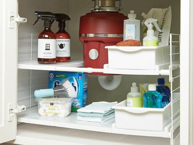 Organizing Under Your Kitchen Sink