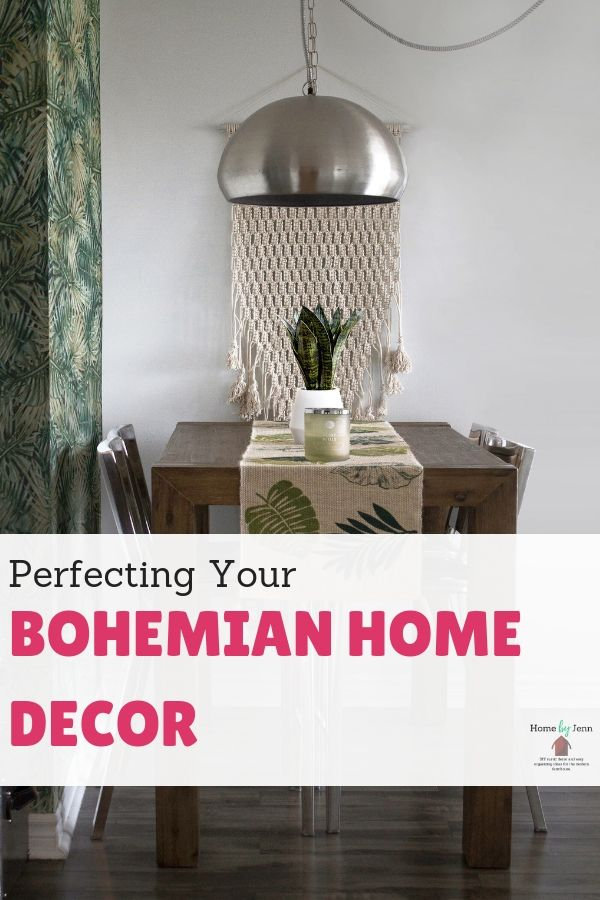 Perfecting Your Bohemian Home Decor via @homebyjenn