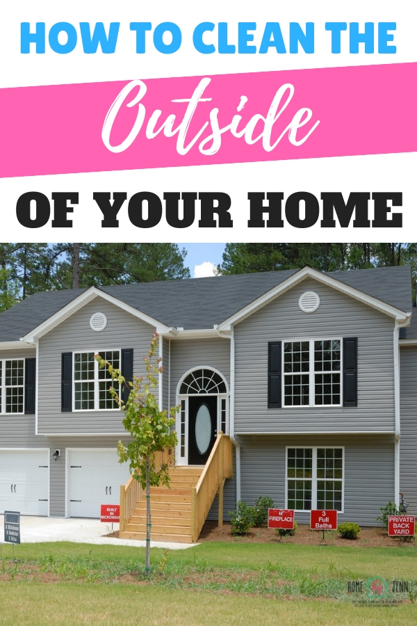 exterior house cleaning tips