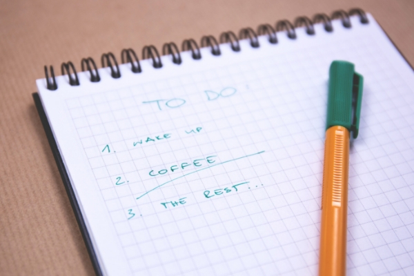 to do list for organization