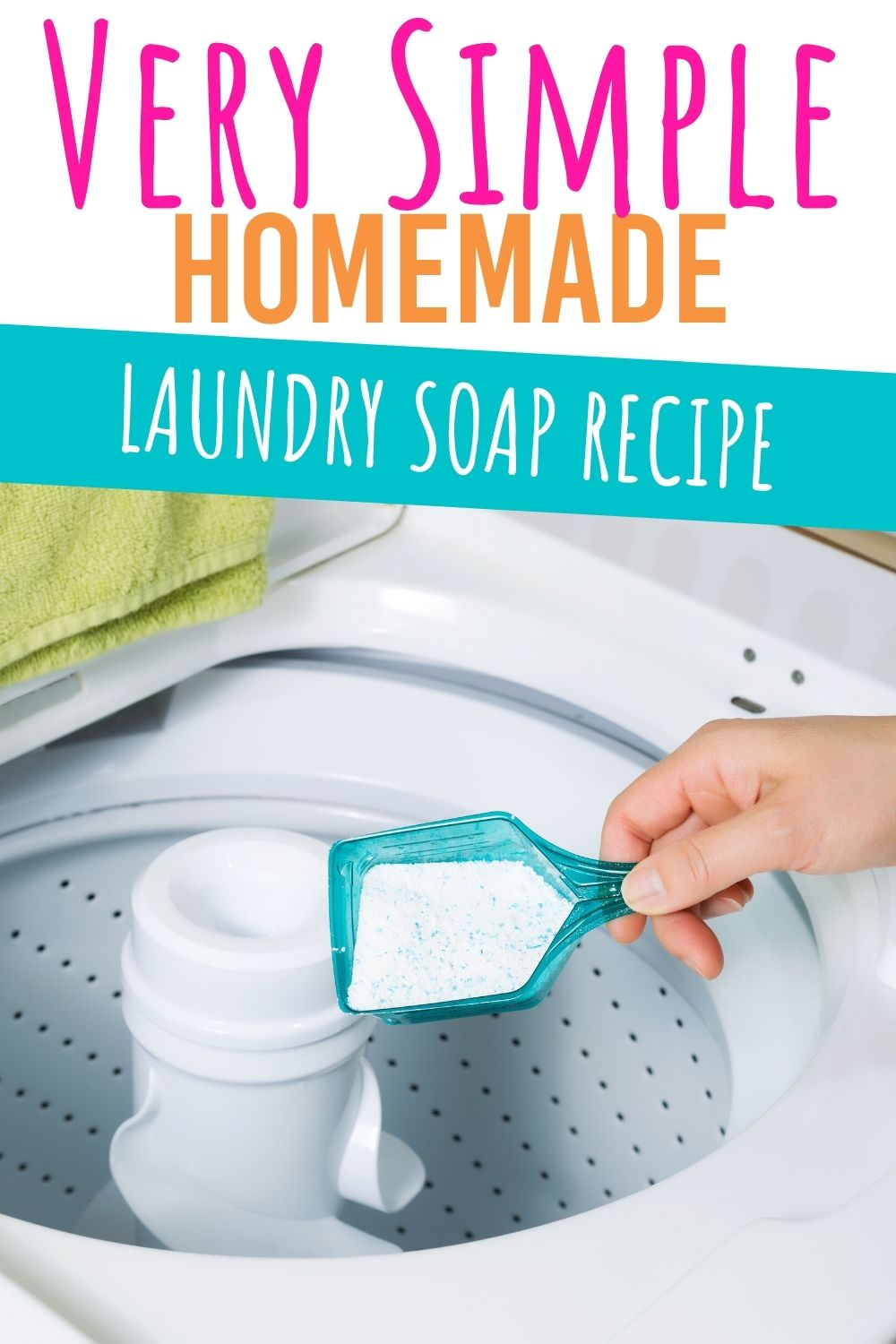 Learn how to make your own homemade laundry soap. This DIY laundry soap is simple to make with common found ingredients. #diy #diylaundrysoap #laundry #laundrysoap #homemadelaundry #naturalcleaning #naturalcleaningsupplies via @homebyjenn