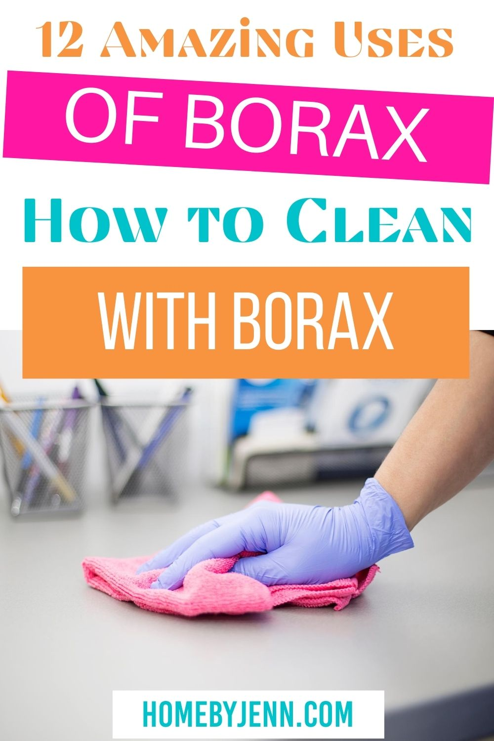 There are so many uses of borax. Today I'm going to share how to clean with borax and how you can use borax around the house. via @homebyjenn