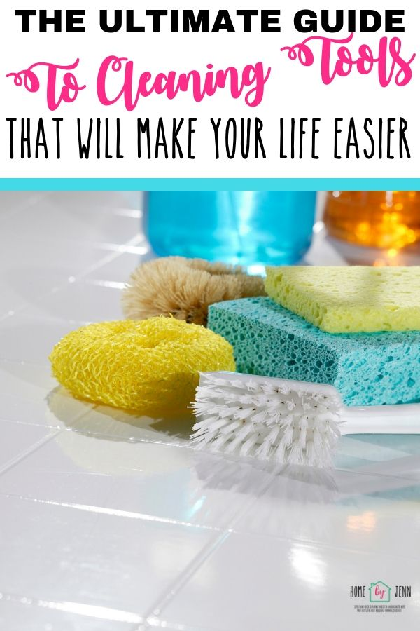 The Ultimate Guide To Cleaning Tools That Will Make Your Life Easier via @homebyjenn