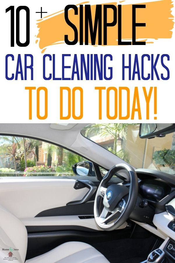 Learn how to keep your car looking new with these car cleaning hacks. Parents will love these cleaning tips for cars. #cleaningtips #cleaninghacks #carcleaninghacks #cleancar