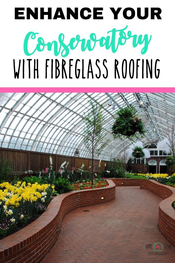 Enhance Your Conservatory With Fiberglass Roofing via @homebyjenn