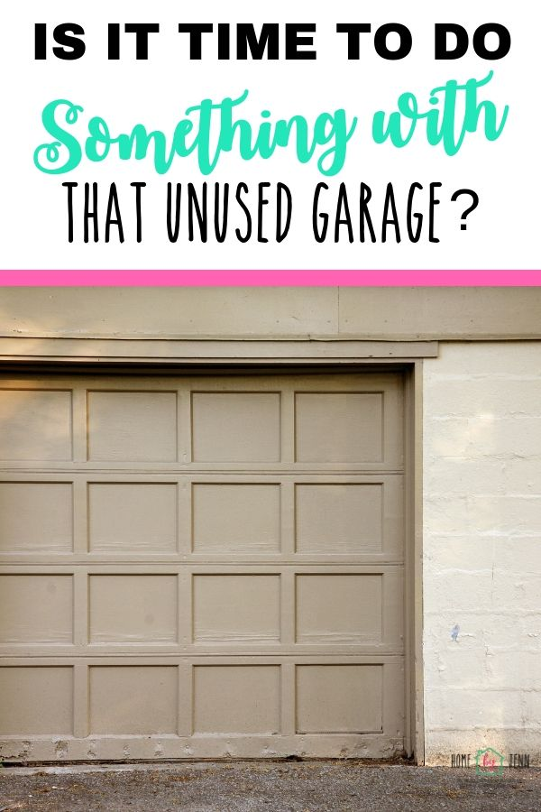 Is It Time To Do Something With That Unused Garage? via @homebyjenn