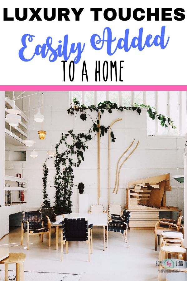 Luxury Touches Easily Added To A Home via @homebyjenn