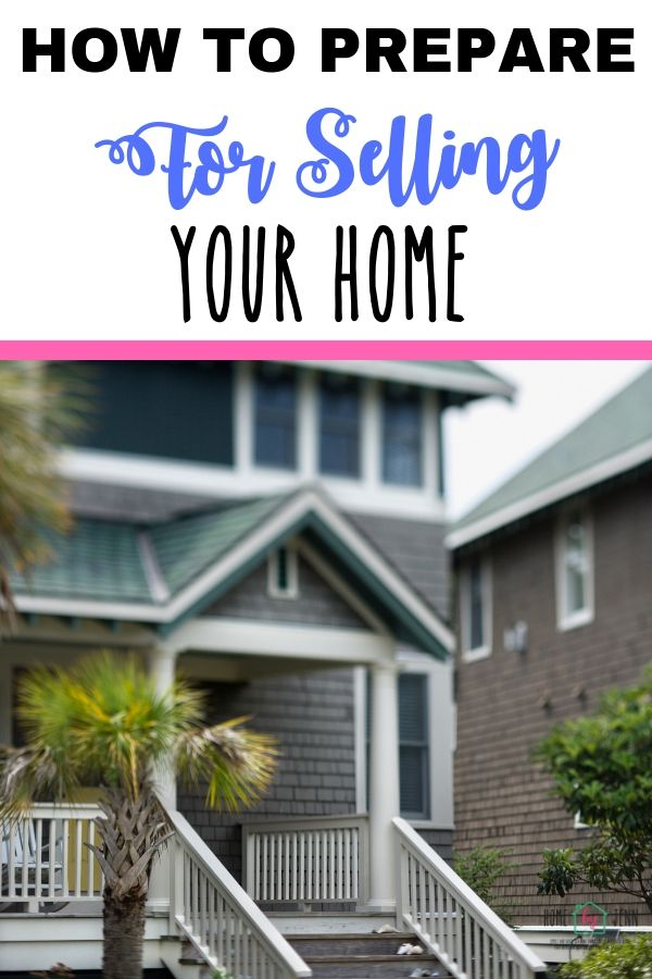 How To Prepare For Selling Your Home via @homebyjenn