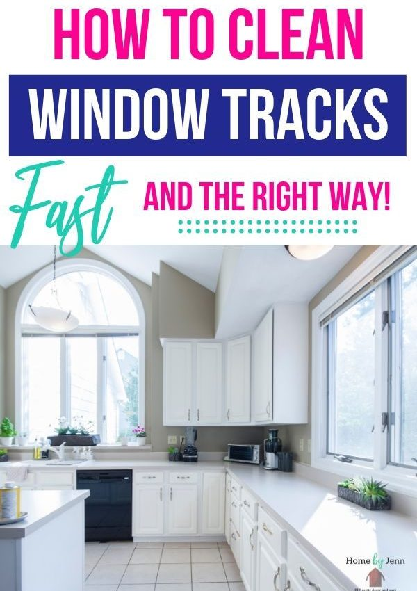 Best Way to Clean Window Tracks Fast!