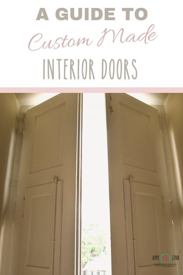 A Guide To Custom Made Interior Doors via @homebyjenn