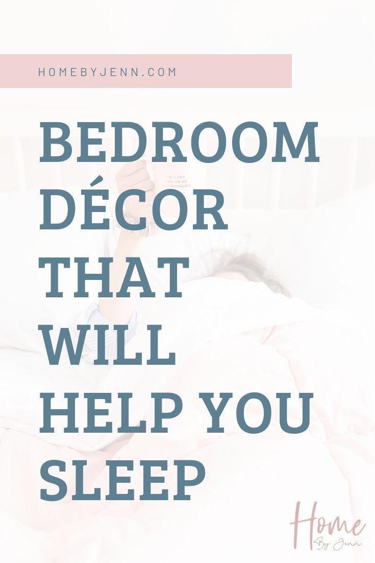 Bedroom Decor Ideas That Will Help You Sleep via @homebyjenn