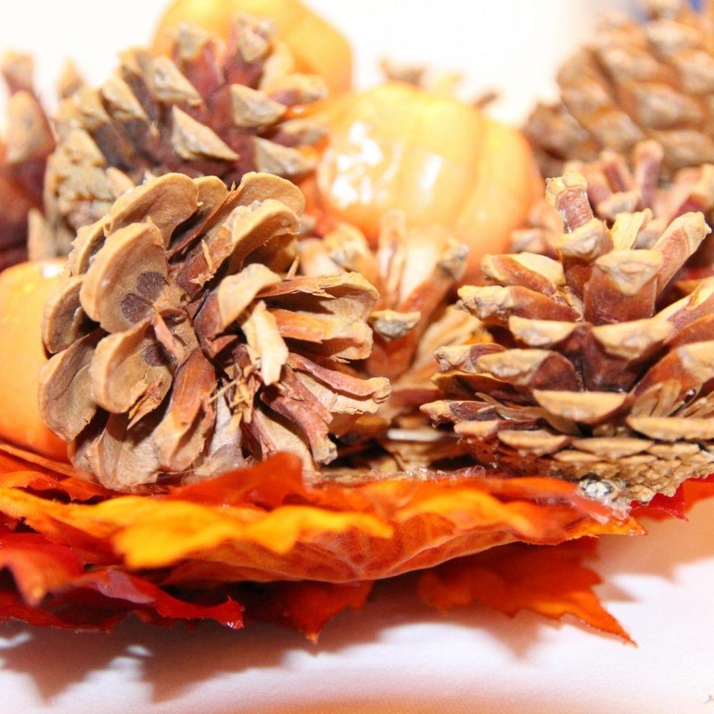 diy leaf bowl