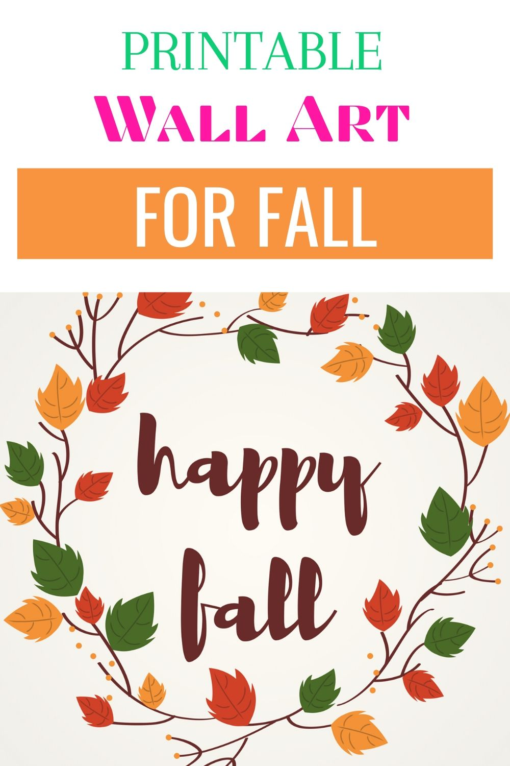 Print these free fall wall art printables to decorate your home or gift to loved ones this holiday season #wallart #fall #printable #freeprintable #freeart via @homebyjenn
