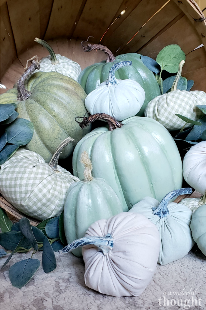 Tips for painting pumpkins: faux and real
