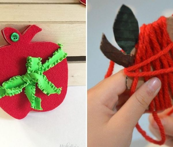 easy apple crafts for anyone