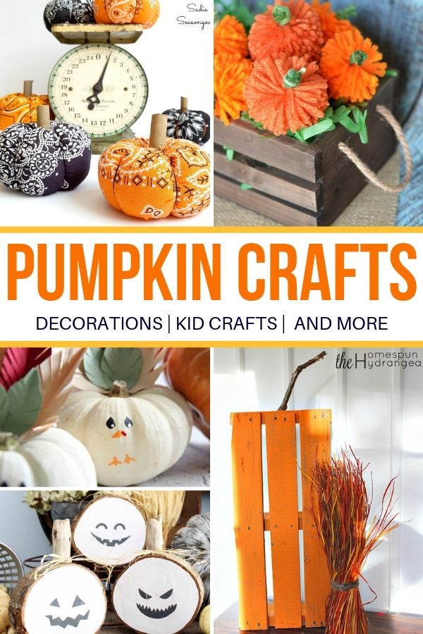 list of pumpkin crafts