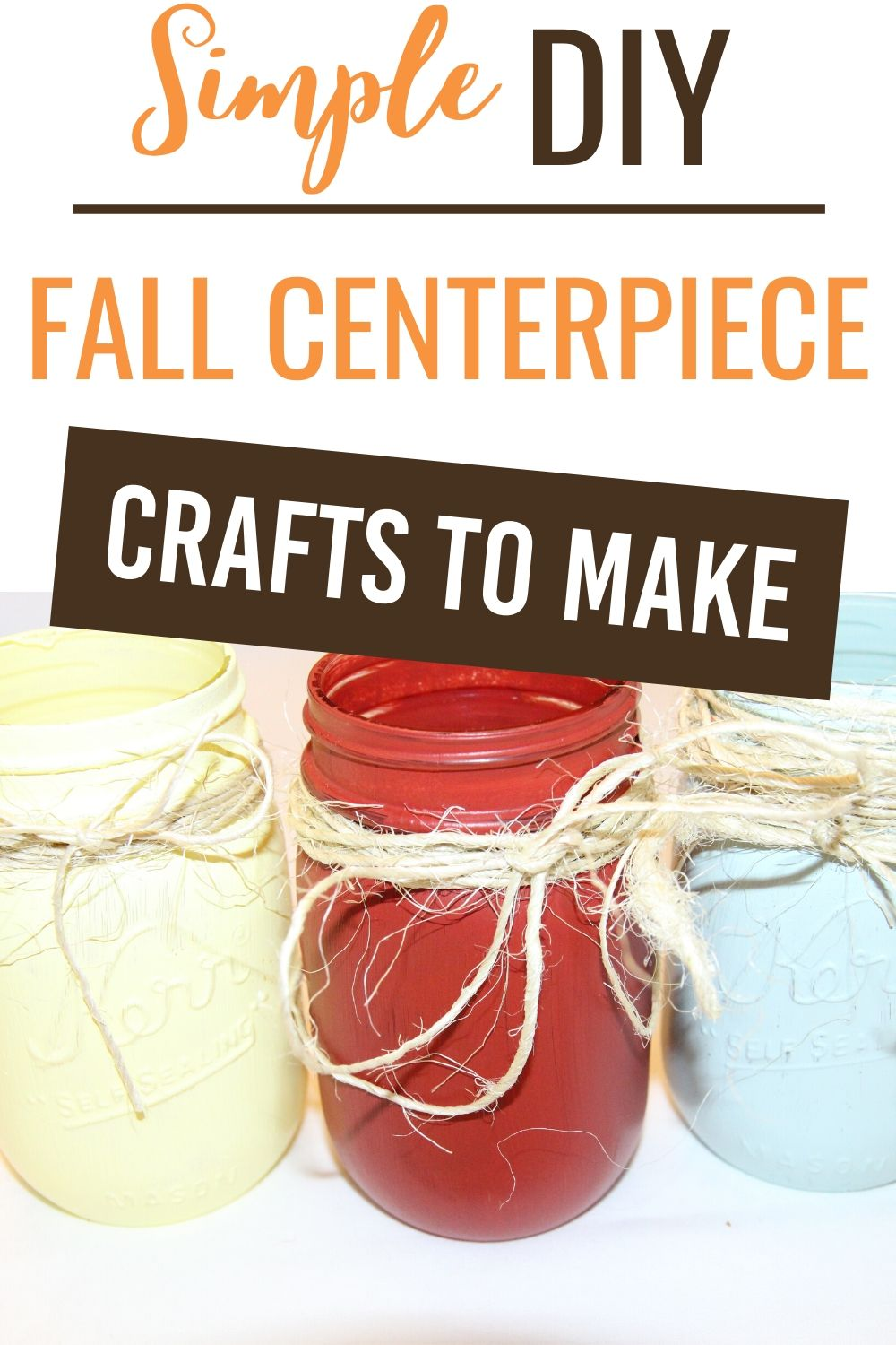 These fun, quirky, and simple DIY easy fall crafts are the best way to unleash your creative side and have fun while you are at it. #fall #craft #diy #tutorial #easy #affordable #decorations via @homebyjenn