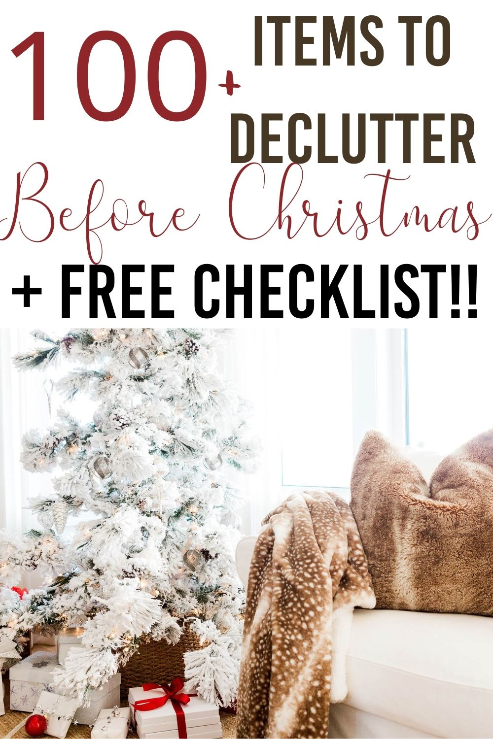 The phenomenon of removing clutter or mess from a place and to later organize and prioritize the rest is called Decluttering. Let me share how to declutter for the holidays #holidays #declutter via @homebyjenn