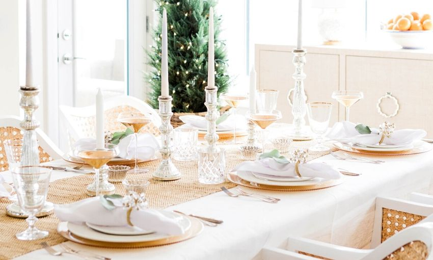 How To Decorate Dining Table When Not In Use - Home by Jenn