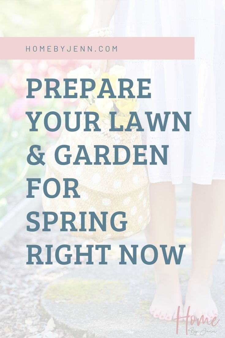 Prepare Your Lawn & Garden for Spring Right Now