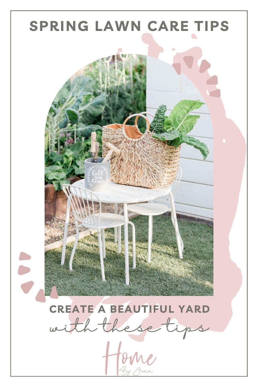 spring lawn care tips via @homebyjenn