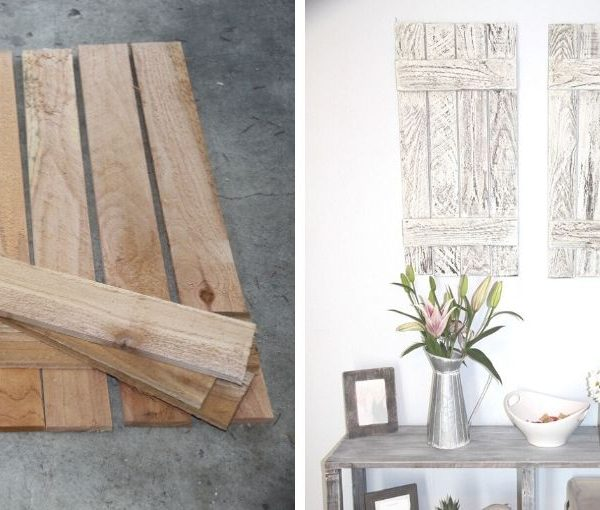 how to make farmhouse shutters