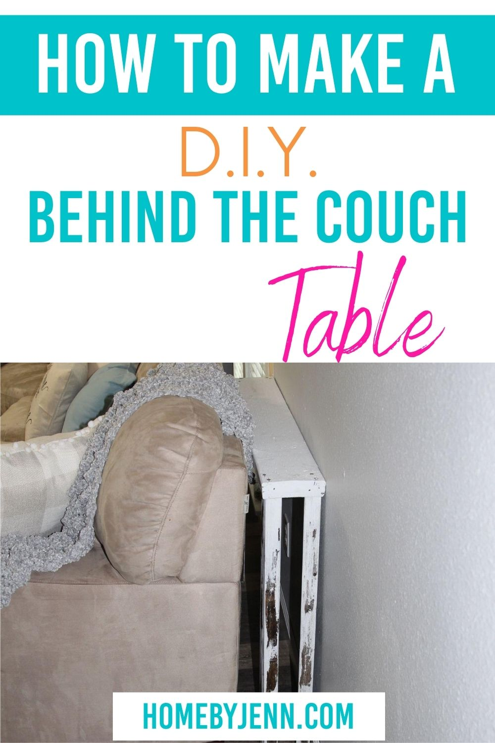 behind the couch table via @homebyjenn