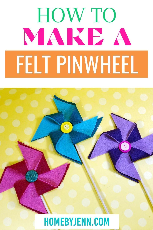 pinwheels for decor or kids via @homebyjenn