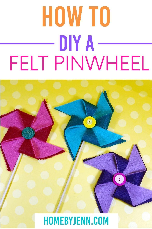 diy a pinwheel via @homebyjenn