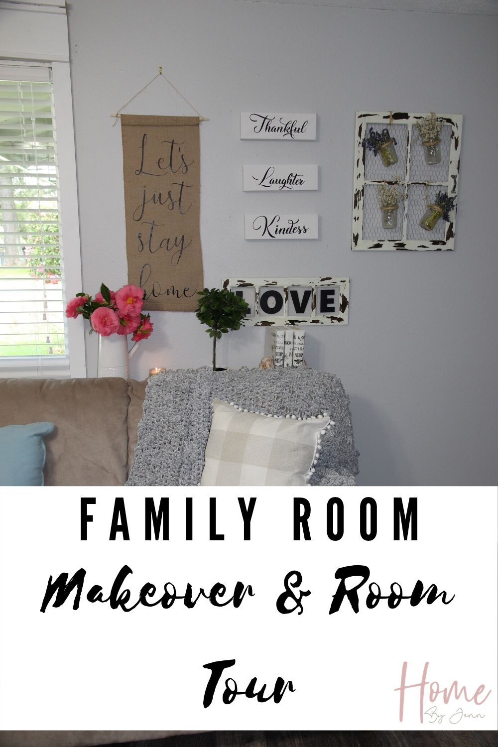 family room makeover after via @homebyjenn