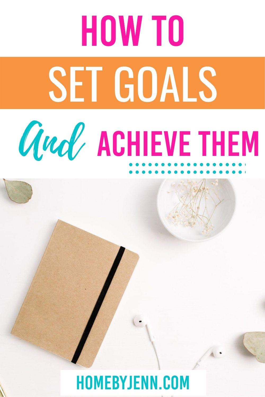 goal setting worksheet via @homebyjenn