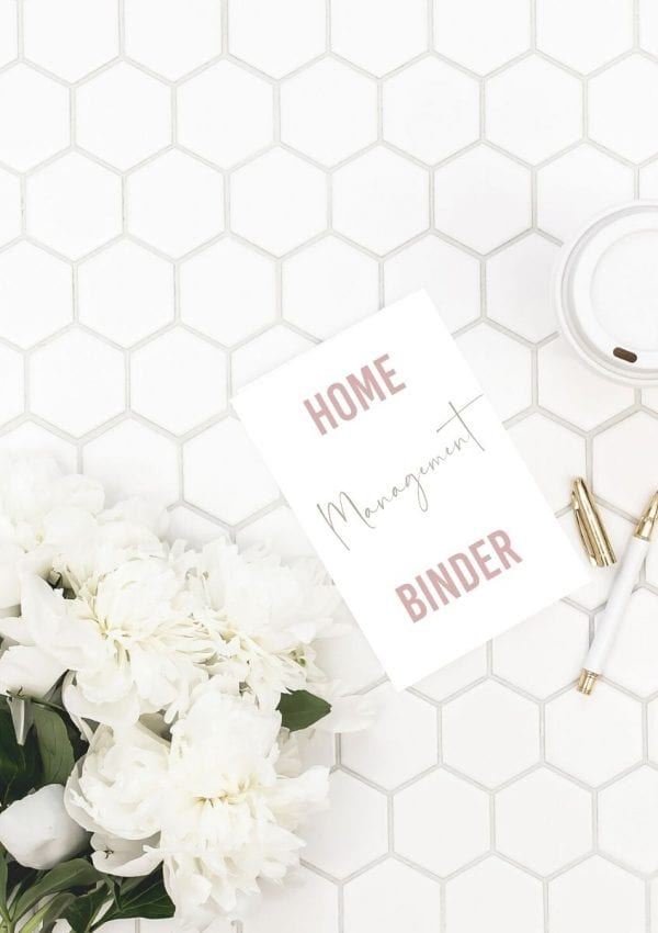 How to Create a Home Management System + Free Printables