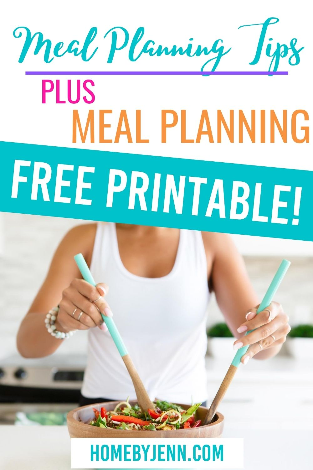 Set up a meal planning system that works. Get some meal planning tips that will save you time and overwhelm. #mealplan #mealplanning #menu #weeklymenu #weeklymealplan #mealplanningtips via @homebyjenn