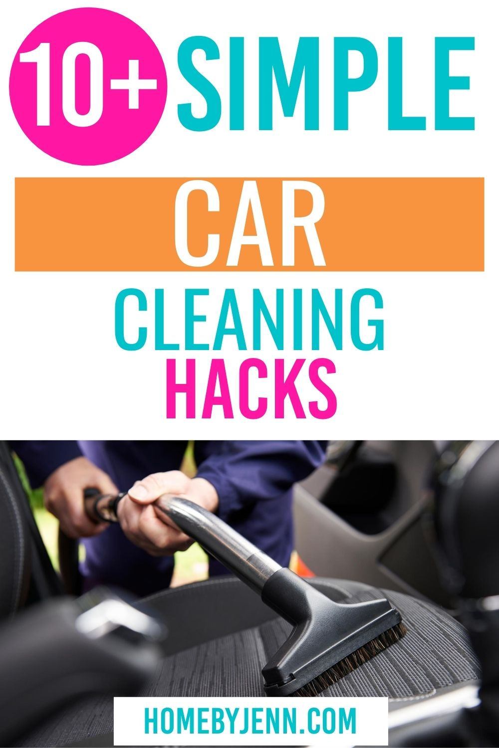 Learn how to keep your car looking new with these car cleaning hacks. Parents will love these cleaning tips for cars. #cleaningtips #cleaninghacks #carcleaninghacks #cleancar via @homebyjenn