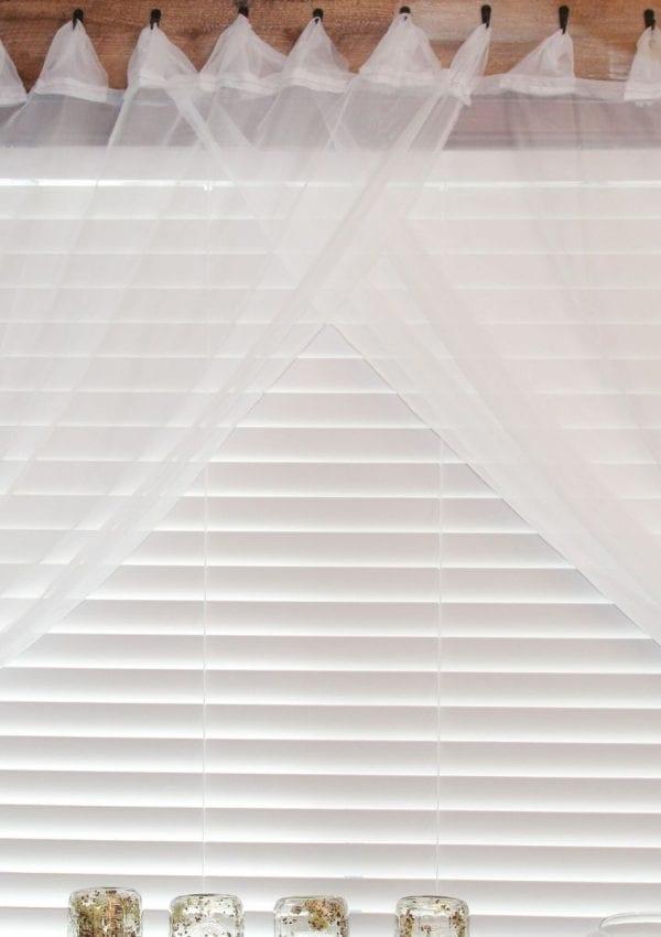 The Cheapest DIY Curtain Rod