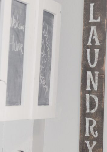 How To Make Easy Laundry Room Signs