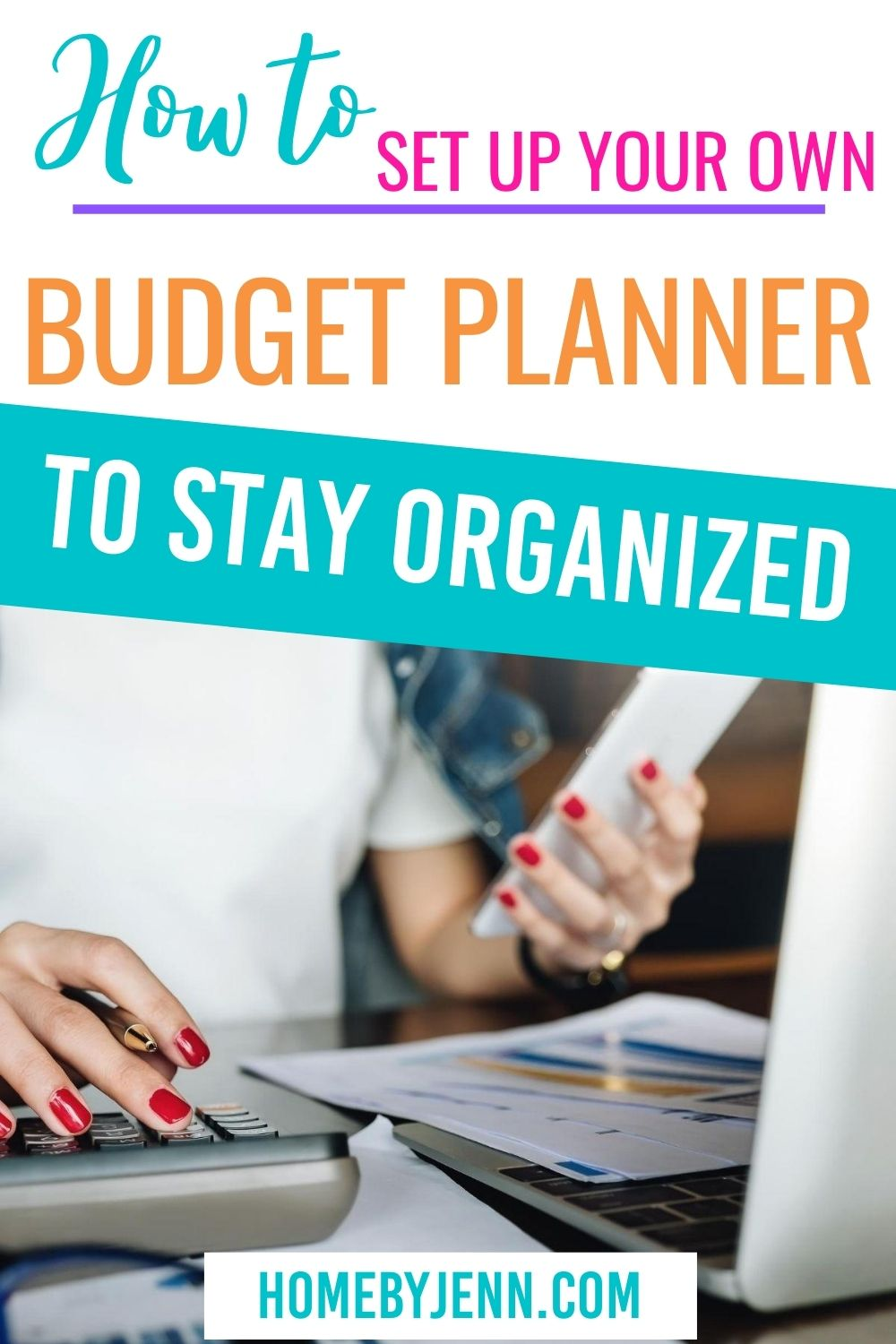 Learn how to create a budget with this free budget planner. Know where your money is going and get your budget back on track. #budgeting #budgetplanner #freebudgetplanner #planner #freeplanner #printable #freeprintable via @homebyjenn
