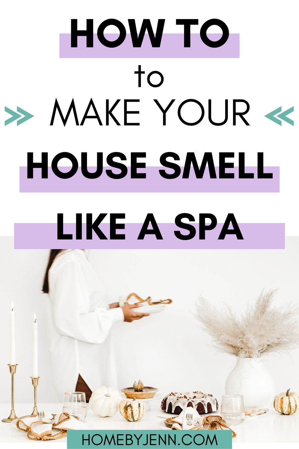 Learn how to make your house smell like a spa. These tips and recipes will make your home smell like a spa. You'll never want to leave your home because of the amazing essential oil recipe to use. via @homebyjenn