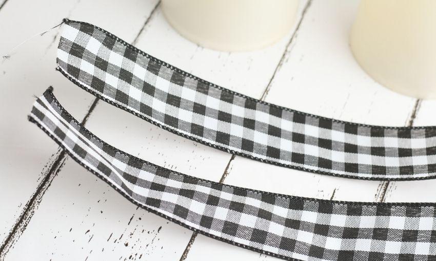 cut ribbon to size